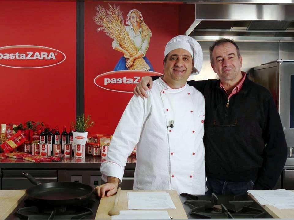Show cooking Pasta Zara con il grandissimo regista Pierandrea Gagliardi  di Controcampo produzioni