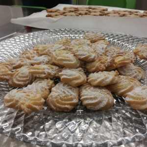 Biscotti e segnaposti Natalizio