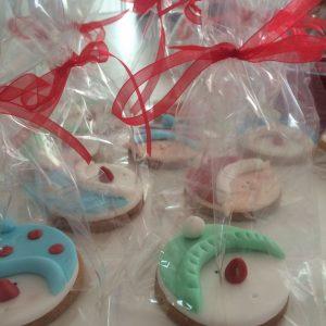 Decorazione Biscotti segnaposti a tema Natale